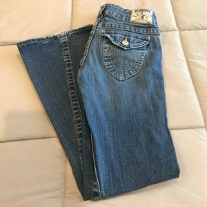 True Religion Joey Distressed Jeans Size 27